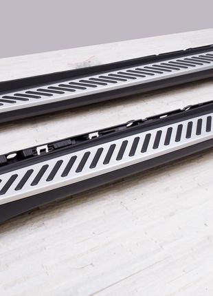 Подножки BMW X6 F16 пороги площадки