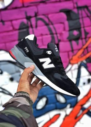 New balance 999 black мужские демисезонные кроссовки нью белен...