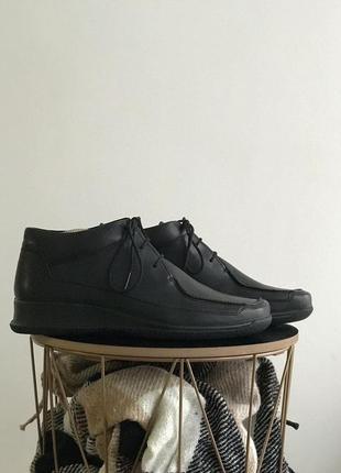 Женские кожаные ботинки clarks springers