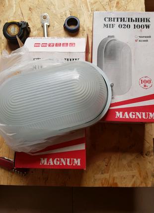 Светильник без решётки MIF 020 100W MAGNUM E27 IP54