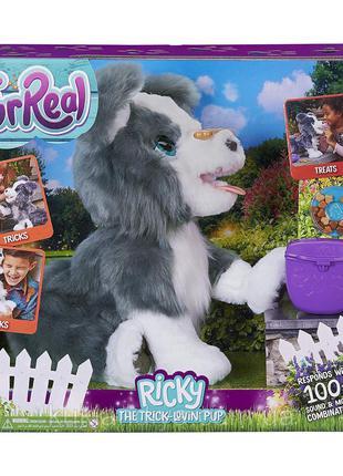 Детская Интерактивная Игрушка Плюшевый Щенок Рикки Хаски