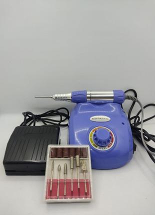 Профессиональный фрезер Glazing Machine Nail Master 208 Синий