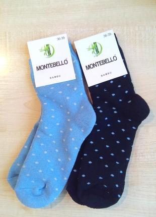 Носки махровые женские montebello турция