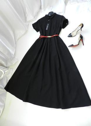 ⛔✅ красивое платье в пол с поясом