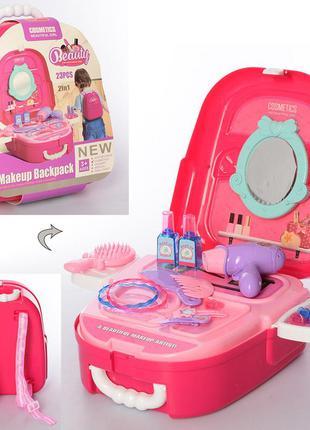 Набор детской декоративной косметики для девочек в виде рюкзак...