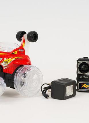Перевёртыш трюковая машинка на радио пульте управлении с свето...