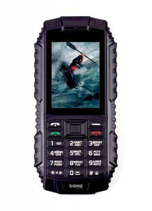 Мобильный телефон Sigma X-treme DT68, не боится ни грязи,ни воды