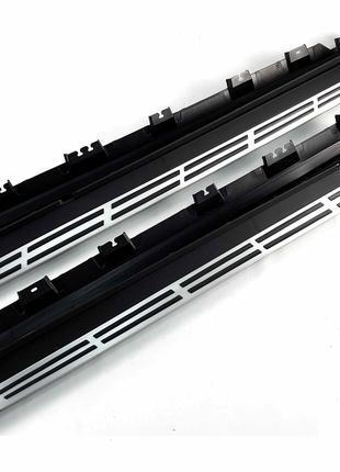 Подножки BMW X6 G06 пороги ступеньки площадки