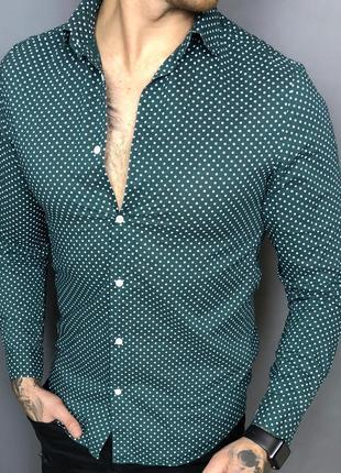 Классная мужская рубашка (#1r19)