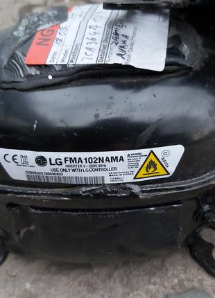 Компрессор линейный для холодильников LG FMA102NAMA