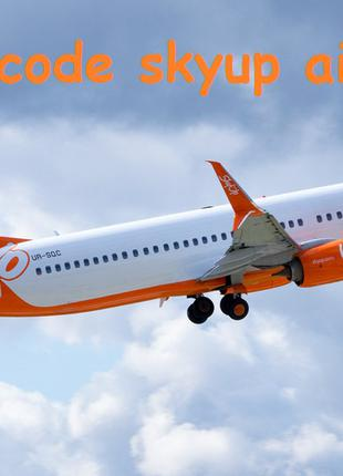 Promo code skyup airlines на сумму 7284 грн.