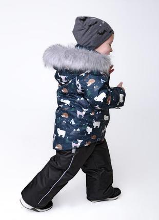 Детский зимний термо комплект арктика