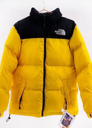 Куртка the north face  700 / yellow