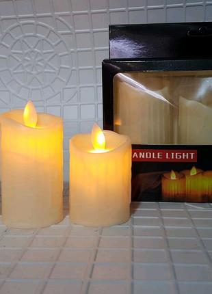 Декоративная свеча свеча из пластики