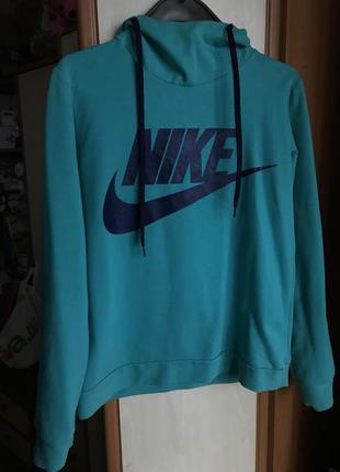 Кофта Nike + безрукавка с капюшоном
