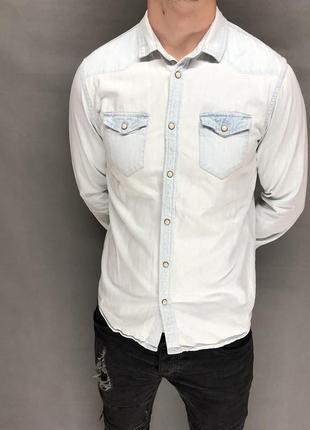 Мужская рубашка от zara (#2r34)