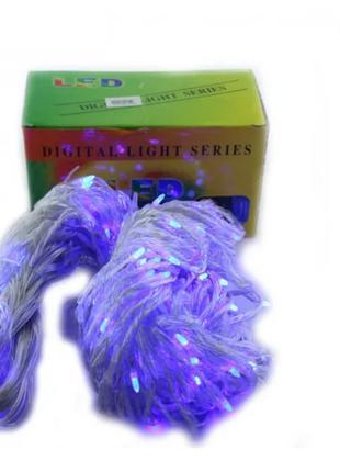 Xmas гирлянда LED (Водопад 3M*3M) 480-B Синяя