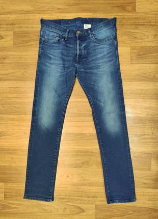 Denim by h&m мужские зауженные стрейчевые джинсы