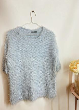 Красивый свитерок-травка