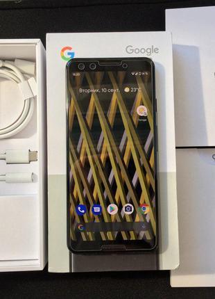 Google pixel 3 Black 128gb + чехол Speck