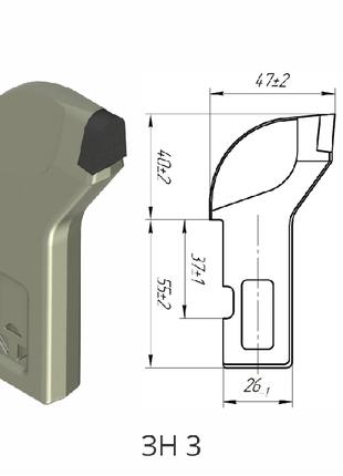 Резец ЗН-3