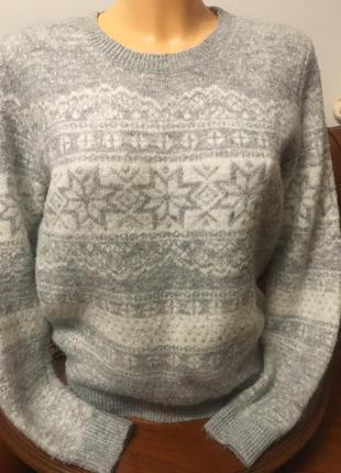 Джемпер свитер из мягкой пряжи