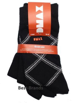 Набор носков 3 пары носки мужские хлопковые бренд dmax германи...