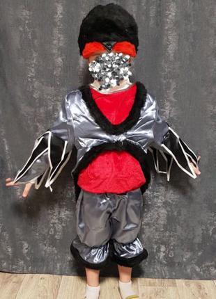 Детский новогодний костюм «Снегирь»