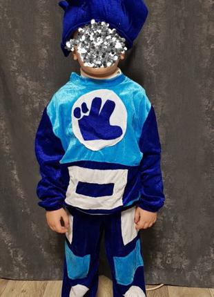 Детский новогодний костюм «Фиксик» «Нолик»