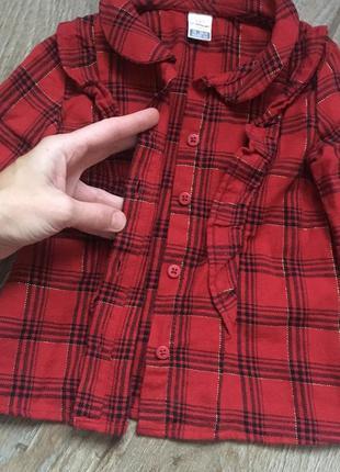 Фланелевая рубашка, кофта для девочки вайкики
