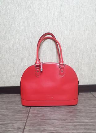 Шикарная сумка cromia, италия, оригинал, 100% кожа