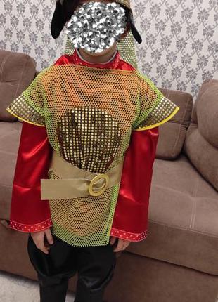Детский новогодний костюм «Богатырь»
