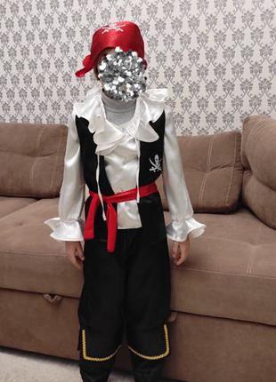 Детский новогодний костюм «Джек Воробей»