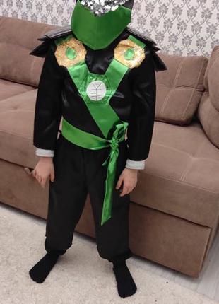 Детский новогодний костюм «Ниндзяго»