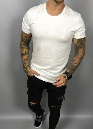 Мужская футболка от hugo boss (#1f405)