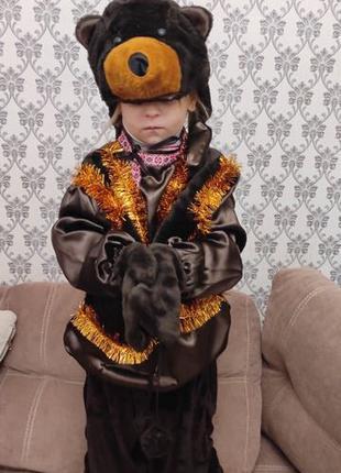 Детский новогодний костюм «Медведь»
