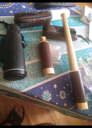 Телескоп, зорові труби, нові або обмін.