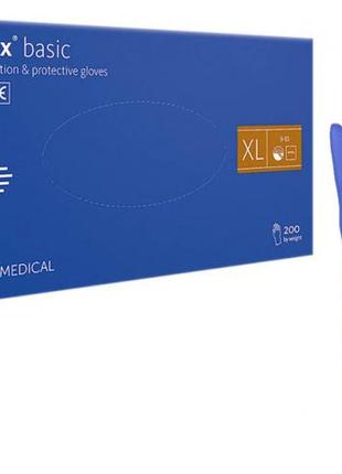 Перчатки Нитриловые Неопудренные Mercator Medical Nitrylex Basic