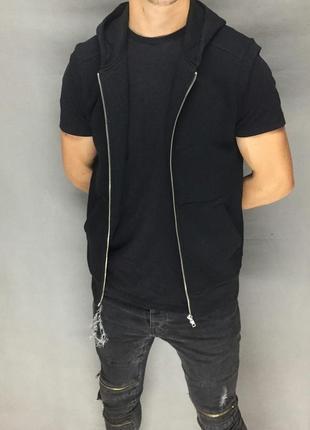 Мужская кофта без рукавов (#2k86)