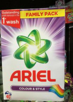 Стиральный порошок Ariel Color 40 стирок 2,6кг.