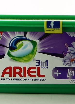 Капсулы для стирки Ariel + Lenor 22 шт