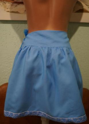 Юбка вышиванка на девочку ,рост 134 см