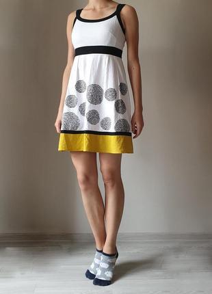 Льняное платье marks&spencer