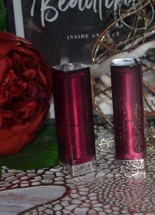 Фирменная помада для губ maybelline new york color sensational...
