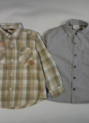 Рубашки 3-5 лет