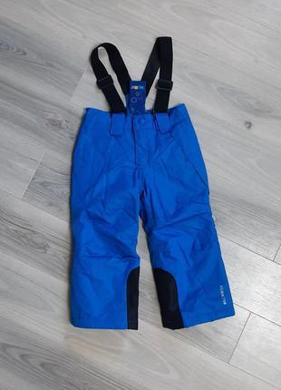 Полукомбинезон штаны зимний lupilu 86/92 см