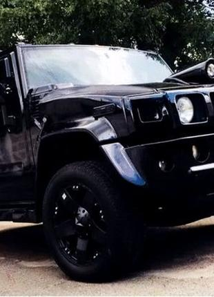 382 Внедорожник Hummer H2 черный
