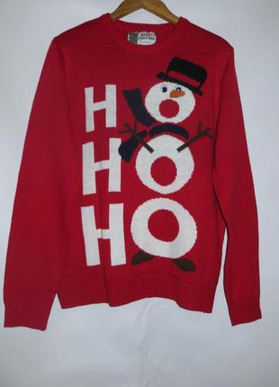 Новогодний свитер хл