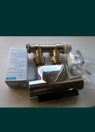 Набор для полотенцесушителя Oventrop Multiblock T Uni SH угловой