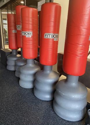 Напольный боксёрский мешок Fitboxe K-Well FBAB03